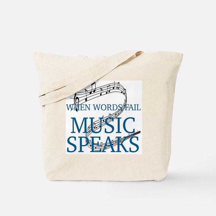 Cute Words Tote Bag