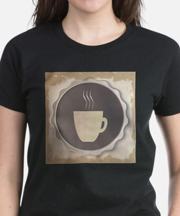 Coffee Background T-Shirt