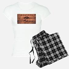 Montana Flag Brand Pajamas