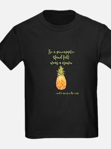 Be a pineapple - watercolor artwork T-Shirt