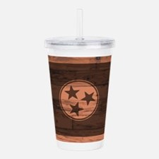 Tennessee Flag Brand Acrylic Double-wall Tumbler