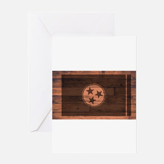 Tennessee Flag Brand Greeting Cards