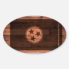 Tennessee Flag Brand Decal