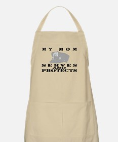 Serves & Protects Hat - Mom BBQ Apron