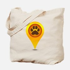 Pet paw pointer Tote Bag