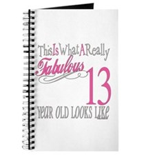 13th Birthday Gifts Journal