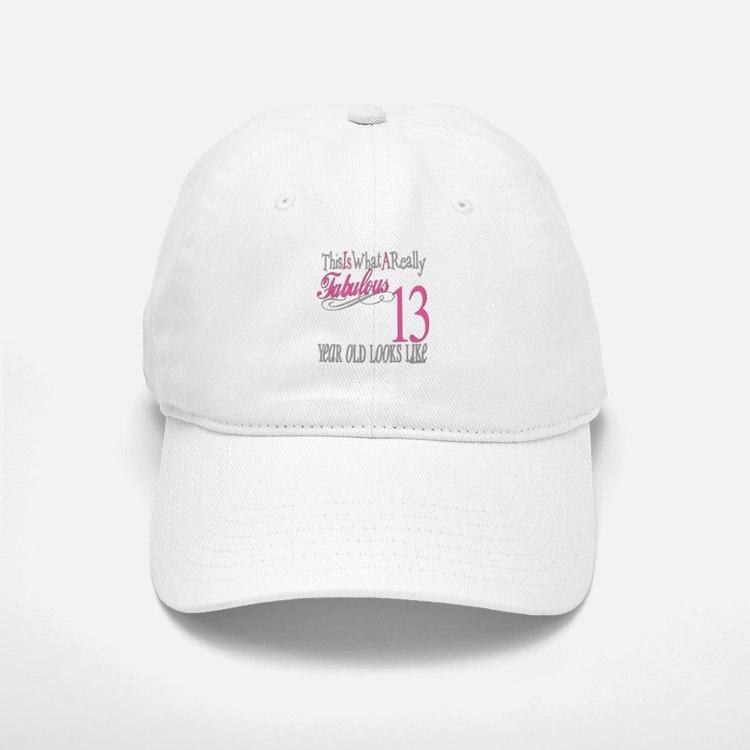 13th Birthday Gifts Baseball Baseball Cap