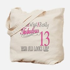 13th Birthday Gifts Tote Bag