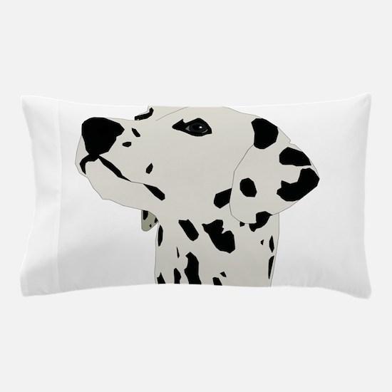 Pes Dalmatian art Pillow Case