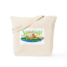 Kayakkin' Tote Bag