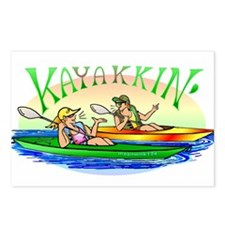 Kayakkin' Postcards (Package of 8)
