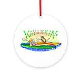 Kayak Ornaments