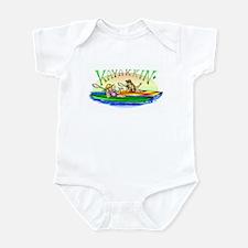 Kayakkin' Infant Bodysuit