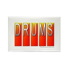 Drums : Rectangle Magnet