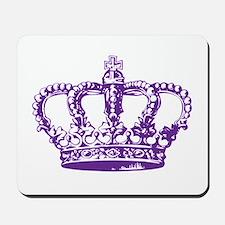 Purple Crown Mousepad