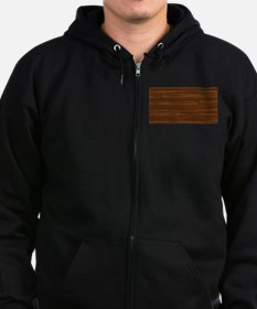 Wood Boards Zip Hoodie