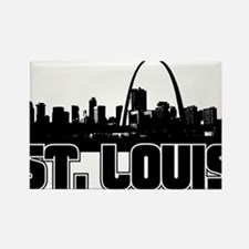 St. Louis Skyline Magnets