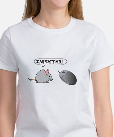 """MOUSE TO COMPUTER MOUSE: """"IMPOSTER"""" T-Shirt"""