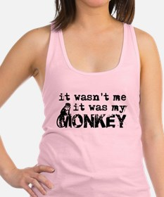 Cute Monkey Racerback Tank Top