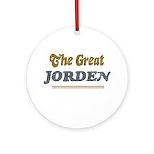 Jorden Ornament (Round)