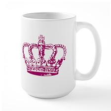 Pink Crown Mug