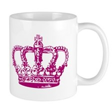 Pink Crown Small Mug