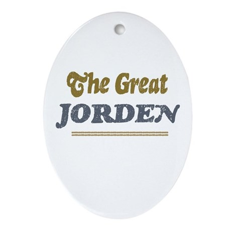 Jorden Oval Ornament