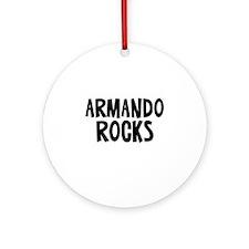 Armando Rocks Ornament (Round)