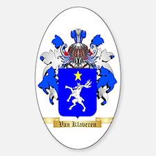 Van Klaveren Sticker (Oval)