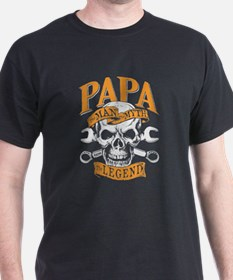 papa the man the myth the lengend T-Shirt