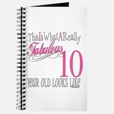 10th Birthday Gifts Journal