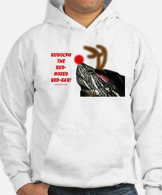 Rudolph the Red Nosed Red Ear Hoodie