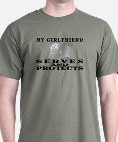 Serves & Protects Hat - GF T-Shirt