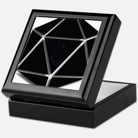 Mer Made Designs Logo Keepsake Box