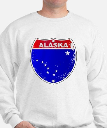 Unique Alaska blue Sweatshirt