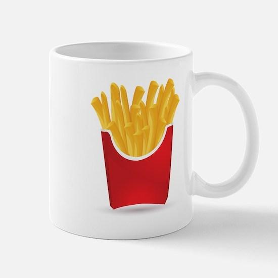 French fries art Mugs