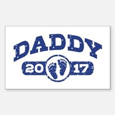 Daddy 2017 Sticker (Rectangle)