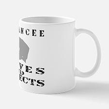 Serves & Protects Hat - Fiancee Mug