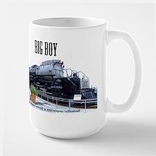 UP Big Boy Steam EngineMug