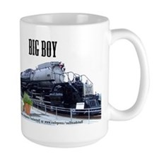 UP Big Boy Steam EngineMug