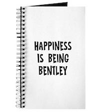 Happiness is being Bentley Journal