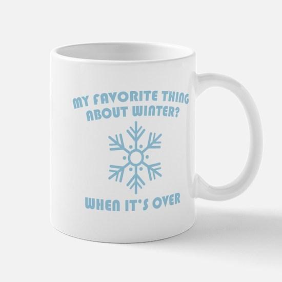 Favorite Thing About Winter Mug