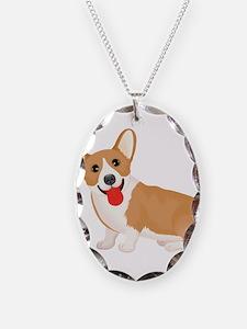Pembroke welsh corgi dog showi Necklace