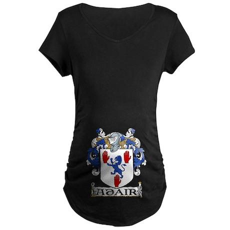 Adair Coat of Arms Maternity Dark T-Shirt