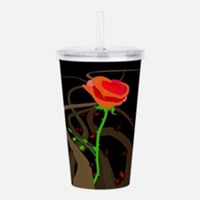 Rose Thorns and Briers Acrylic Double-wall Tumbler