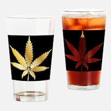 Cute Herbal smoke Drinking Glass