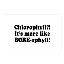 Chlorophyll? More like Bore-ophyll Postcards (Pack