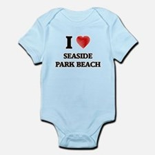 I love Seaside Park Beach Connecticut Body Suit