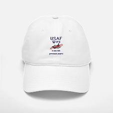 USAF Wife Authorized Baseball Baseball Cap
