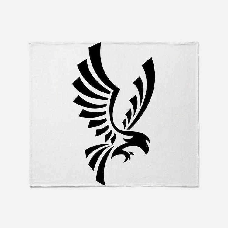Eagle symbol Throw Blanket